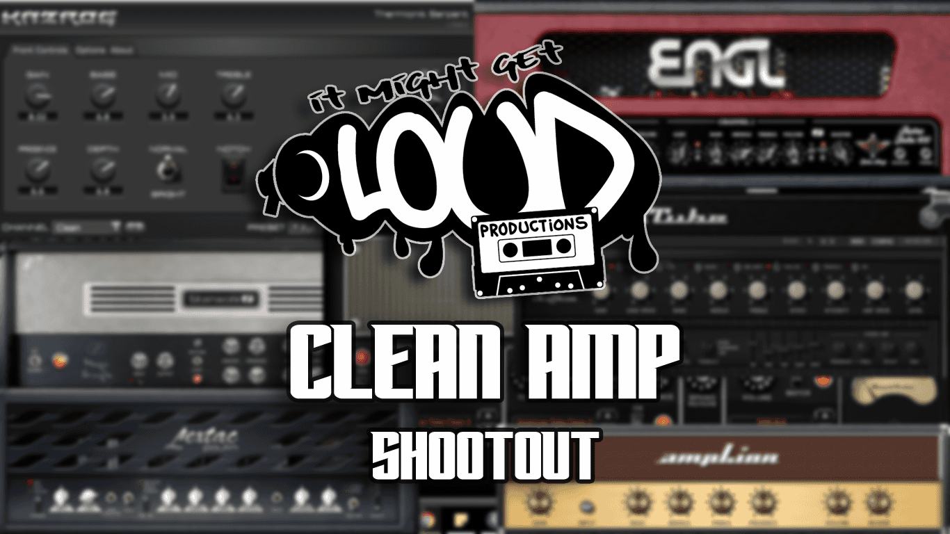 clean metal guitar amp shootout it might get loud productions. Black Bedroom Furniture Sets. Home Design Ideas