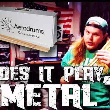 Aerodrums: Does It Play Metal?